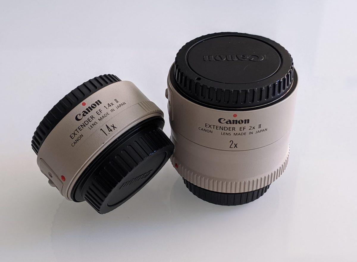 Convertidor de focal 1.4x y 2x